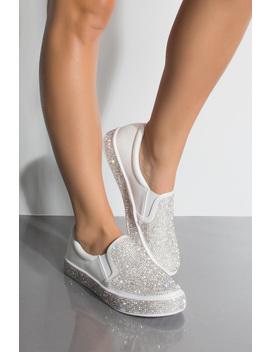 Bling Bling Slip On Sneakers by Akira