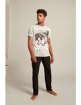 Graphic Print Long Pyjama Set by Next