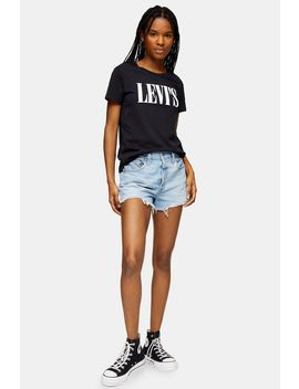 501 Bleach Wash Original Shorts By Levi's by Topshop