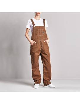 Women's Bib Overall Straight   Griffith Twill by Carhartt Wip
