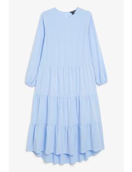 Ruffle Maxi Dress by Monki