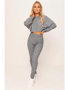 Batwing Top & Legging Loungewear Set by I Saw It First