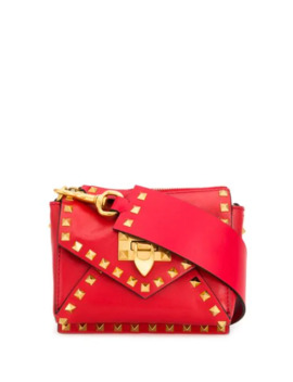 Valentino Garavani Small Rockstud Shoulder Bag by Valentino