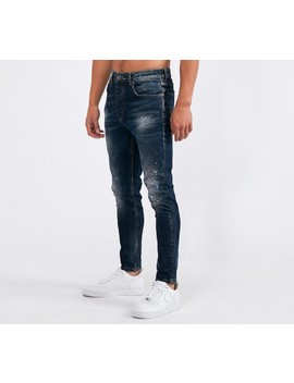 Dane Superslim Jean | Blue / Black Wash by Kings Will Dream
