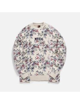 Kith Floral Panel Crewneck by Kith