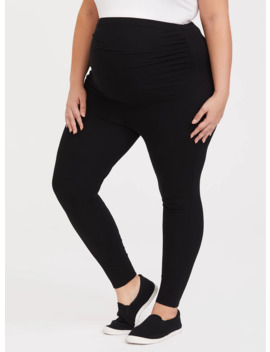 Maternity Premium Legging   Black by Torrid