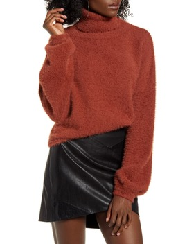 Crop Turtleneck Sweater by 4 Si3 Nna