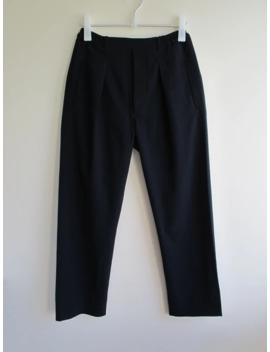 Lemaire Wool Trousers Navy Sz30 Eu46 New by Lemaire  ×