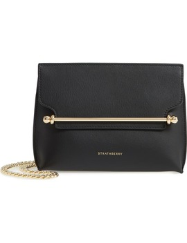 Mini Stylist Calfskin Leather Convertible Clutch by Strathberry