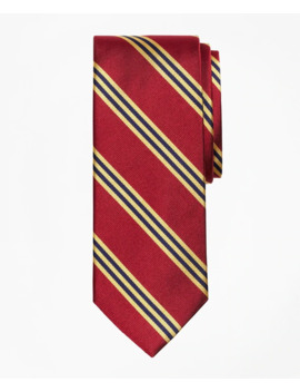 Bb#1 Rep Tie by Brooks Brothers