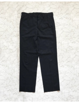 2010 Prada Milano Blue Navy Trousers by Prada  ×