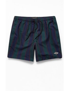 "Pac Sun Jack Striped 17"" Swim Trunks by Pacsun"