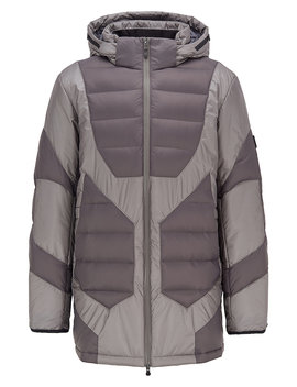 Down Filled Padded Parka With Technical Details Down Filled Padded Parka With Technical Details by Boss