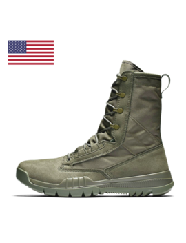 "Nike Sfb Field 8"" Sage Green Lightweight Military Boots 631371 222 Sale! by Nike"