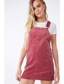 Velvet A Line Overall Mini Dress by Forever 21