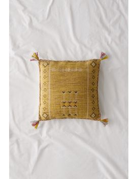 Hannah Embroidered Throw Pillow by Urban Outfitters