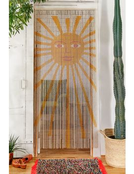 Sun Bamboo Beaded Curtain by Urban Outfitters