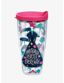 Disney Mary Poppins Returns 24 Oz Tumbler With Lid by Hot Topic