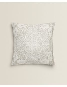 Shiny Paisley Cushion Cover by Zara Home