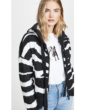 Zebra Hoodie by Dna