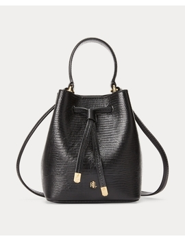 Leather Mini Debby Iii Bag by Ralph Lauren