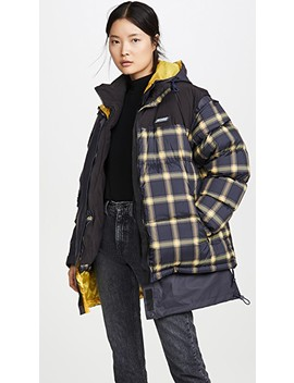 Plaid Puffer by Monse