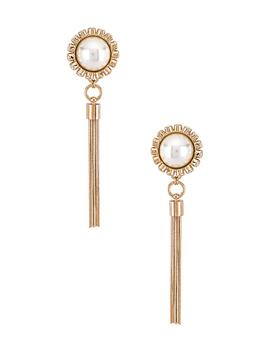 Sphere Tassel Earrings by Anton Heunis