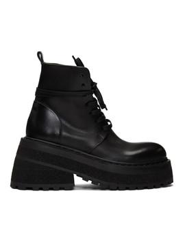 Black Carreta Anfibio Boots by MarsÈll
