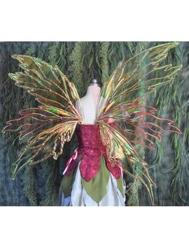 Large/Extra Large Flare Fairy Wings by Etsy