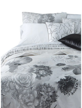 Modern Meadow Cotton 3 Piece Duvet Cover Set by Christine Dovey