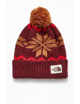 The North Face Fair Isle Beanie by Pacsun