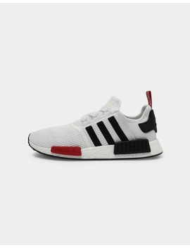 Adidas Nmd R1 White/Black/Red by Adidas