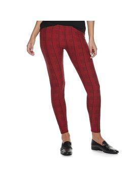 Women's Apt. 9® Soft Holiday Leggings by Apt. 9