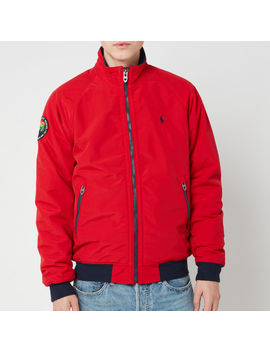 Polo Ralph Lauren Men's Bomber Portage Jacket   Rl 2000 Red by Polo Ralph Lauren