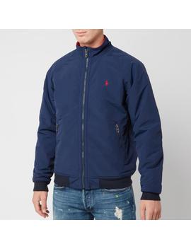 Polo Ralph Lauren Men's Bomber Portage Jacket   Newport Navy by Polo Ralph Lauren