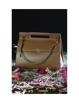 Whip Large Leather Satchel by Givenchy