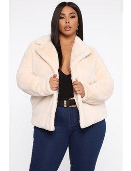 This One's Fur You Ii Jacket   Ivory by Fashion Nova
