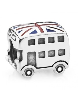 Union Jack Bus Charm 791049 Er by Pandora
