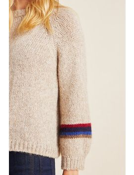 Addie Colorblocked Sweater by Velvet By Graham & Spencer