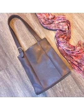 Vintage | Tote Bag | Brown Leather | Jackson| Gold by Vintage