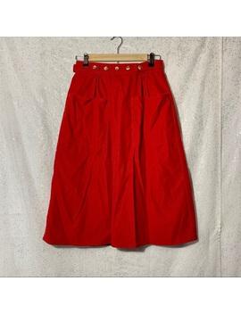 L.L. Bean Vintage Corduroy Wrap Midi Skirt Size S by L.L. Bean