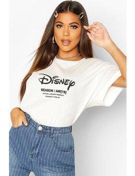 Disney Princess Ariel Back Print T Shirt by Boohoo