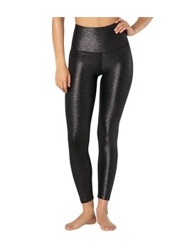 Twinkle High Waisted 7/8 Yoga Leggings by Yoga Outlet
