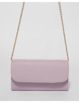 Purple Kris Clutch Bag by Colette Hayman