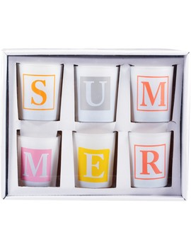Hot Topic Summer Candles 6 Pack by Hot Topic