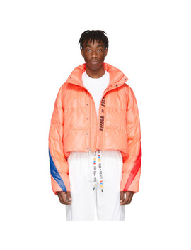 Pink Collection 3 Ballfiber Jacket by Reebok By Pyer Moss