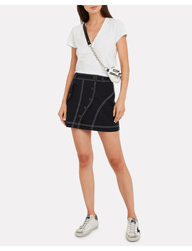 Classic V Neck Jersey T Shirt by Intermix