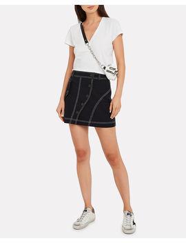 Classic V Neck Jersey T Shirt by Intermix