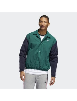 Trefoil Coach Jacket by Adidas