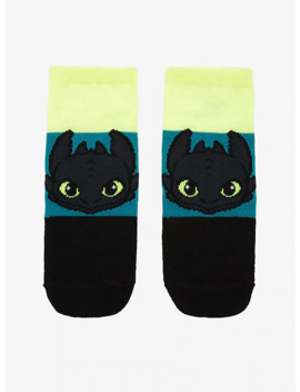 How To Train Your Dragon Toothless No Show Socks by Hot Topic